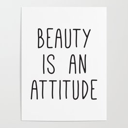 Beauty Quotes Posters | Society6