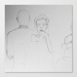 Waltz of Intimacy Canvas Print