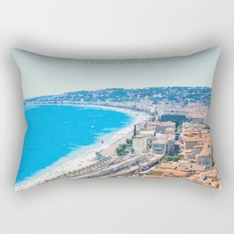 Visit Nice Rectangular Pillow
