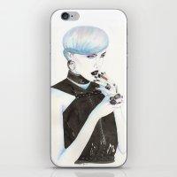 cigarette iPhone & iPod Skins featuring Cigarette by Alessandra Castagnolo