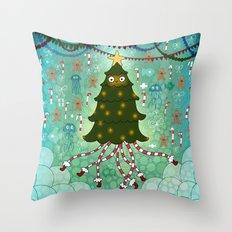 'Tis the season to be jelly Throw Pillow