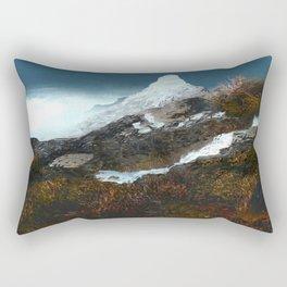 Crucible Crossing Rectangular Pillow