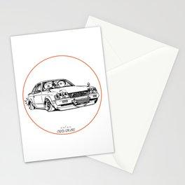 Crazy Car Art 0208 Stationery Cards