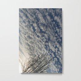 Spring Clouds Metal Print