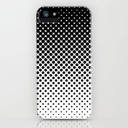 Halftone Gradient iPhone Case