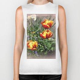 Tulips Biker Tank