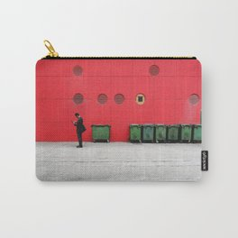 Red Hong Kong Carry-All Pouch