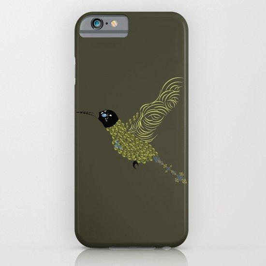 Abstract Hummingbird iPhone & iPod Case