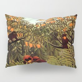 "Henri Rousseau ""Apes in the Orange Grovee"", 1910 Pillow Sham"