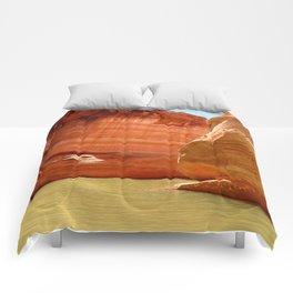 Antelope Canyon On Lake Powell Comforters