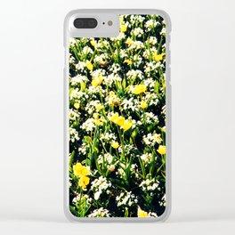 Sunshine days Clear iPhone Case