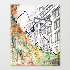Outcast Canvas Print