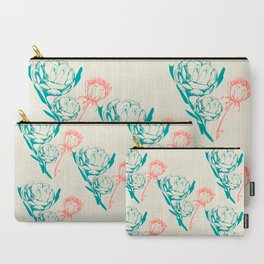 Phallic Floral Carry-All Pouch