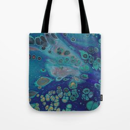 Space Baby Tote Bag