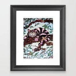 The Grin Framed Art Print
