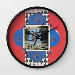 The Empty Garden Wall Clock