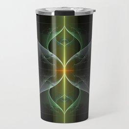 Fairy Gate Fractal Travel Mug