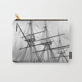 A Sail Warship The USS Constellation Carry-All Pouch