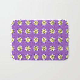Purple Pop-Ups Bath Mat
