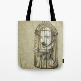 Michel Du Montaigne (1533 - 1592) An Inspirational Philosopher; Prison in the Sky Tote Bag
