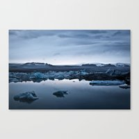 iceland Canvas Prints featuring Iceland by Daniel Fornies