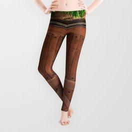 Door and Ivy Backdrop Leggings