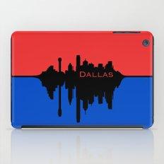 Dallas City Skyline iPad Case