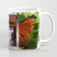 mad hatter Mugs featuring Mad Hatter by grapeloverarts