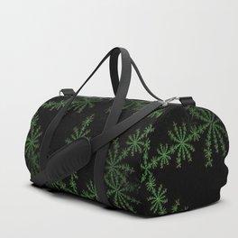Neon black star pattern Duffle Bag