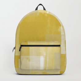 Modern Abstract No. 19 | Citron Backpack