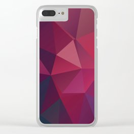 Fall fractals Clear iPhone Case