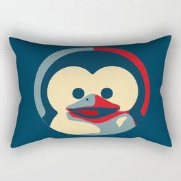Linux tux penguin obama poster baby  Rectangular Pillow