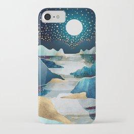 Moon Glow iPhone Case