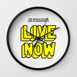 The Future: Live Now Wall Clock