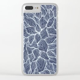 No Feeling Left Clear iPhone Case