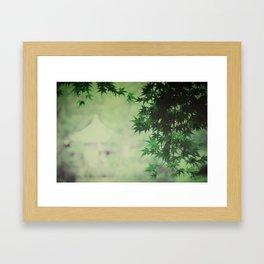 japanese serenity Framed Art Print