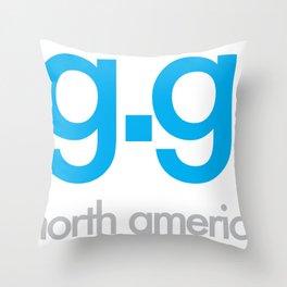 g.g. LOGO Throw Pillow