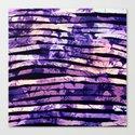 purple floral stripes by clemm