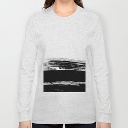 abstract b&w Long Sleeve T-shirt