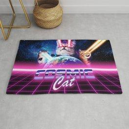 Cosmic cat Rug