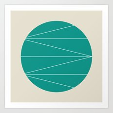 #33 Jupiter – Geometry Daily Art Print