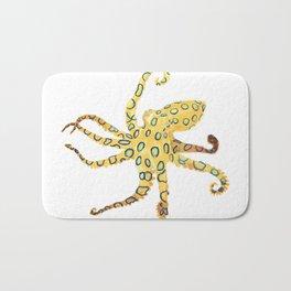 Blue-ringed Octopus (Octopussy) Bath Mat