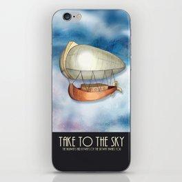 Take to the Sky iPhone Skin