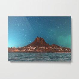 Space Mountain Metal Print