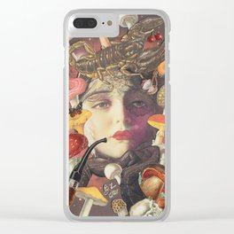Toadstool Head Clear iPhone Case