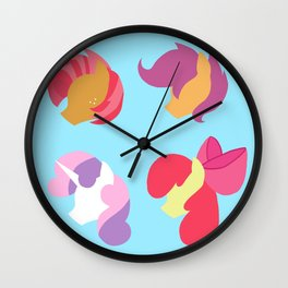 Cutie Mark Crusaders Wall Clock