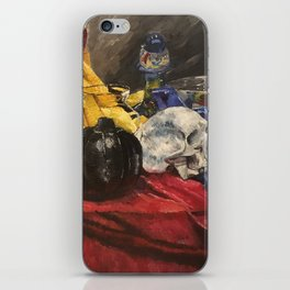 Skull still life 2 iPhone Skin
