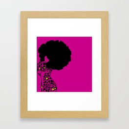raven tote Framed Art Print