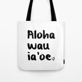 Hawaiian Love Tote Bag