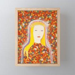 The Golden Crown Framed Mini Art Print